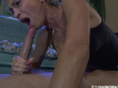 Real stepson rescuses step mom from the shower